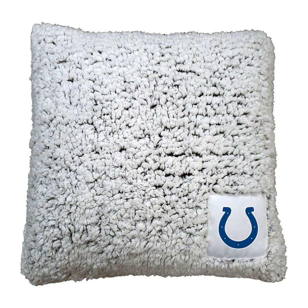 Indianapolis Colts Frosty Throw Pillow