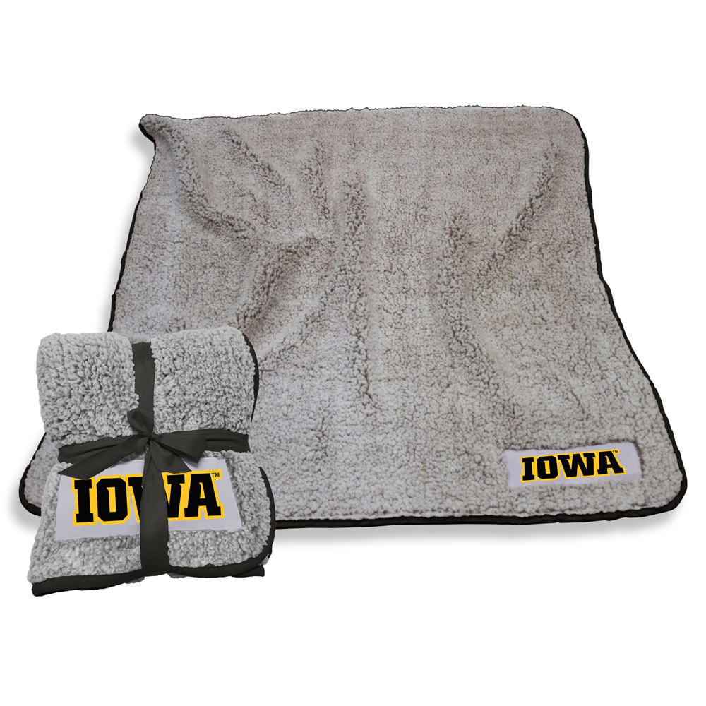 Iowa Hawkeyes Frosty Throw Blanket