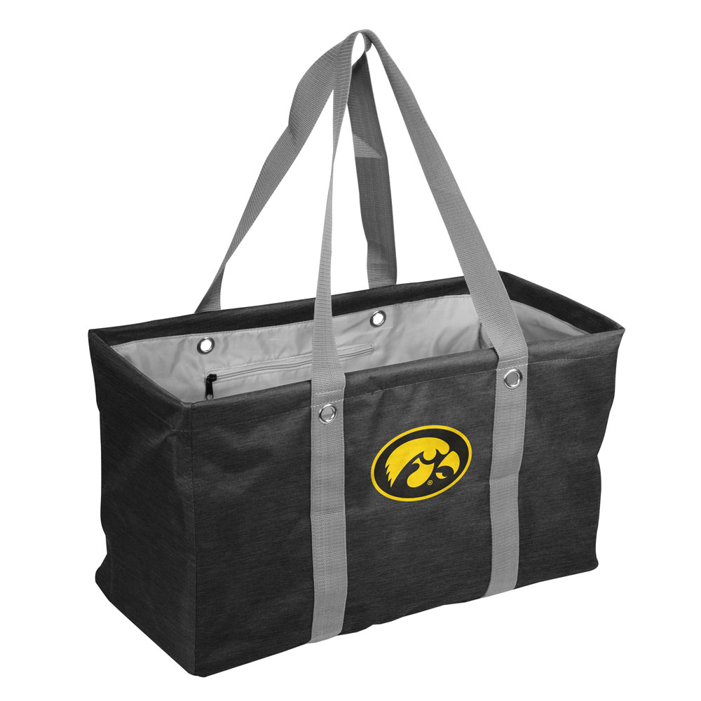Iowa Hawkeyes Crosshatch Picnic Caddy