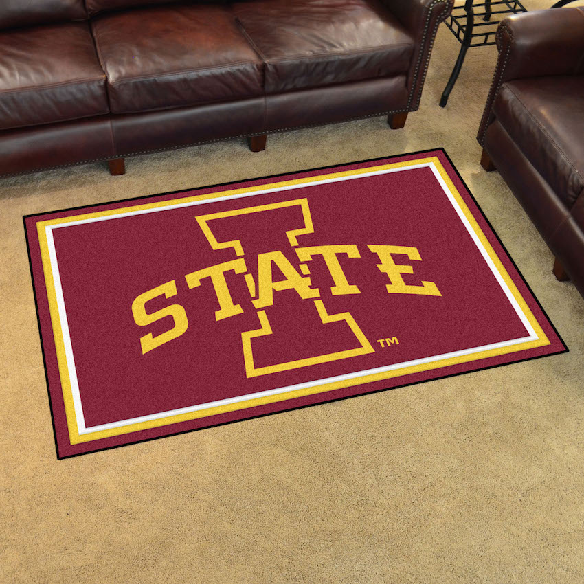 Iowa State Cyclones 4x6 Area Rug