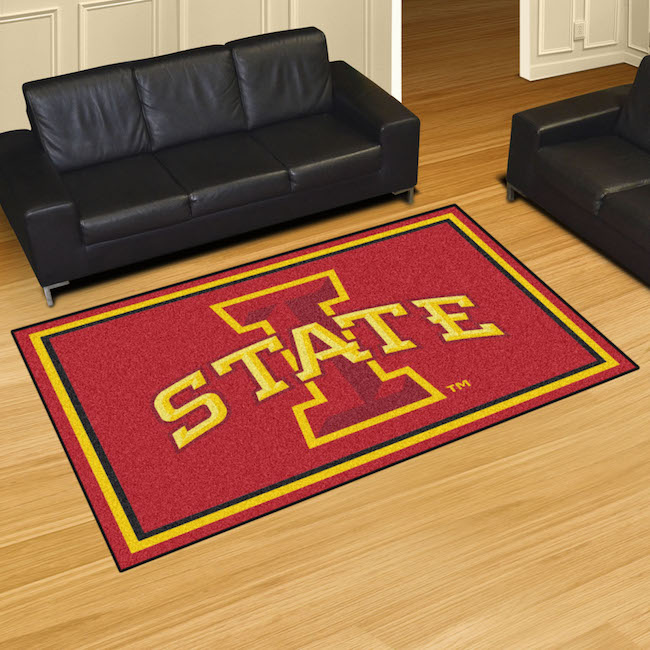 Iowa State Cyclones 5x8 Area Rug