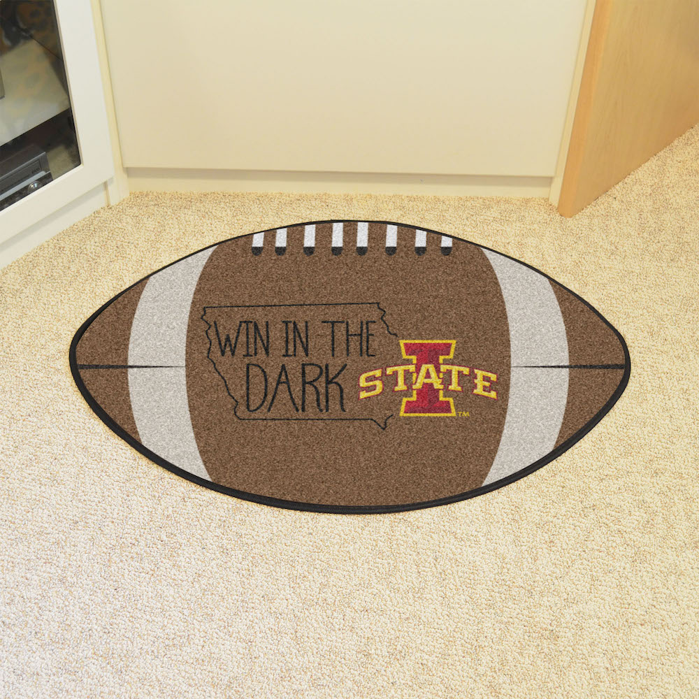 Iowa State Cyclones SOUTHERN STYLE 22 x 35 Football Mat