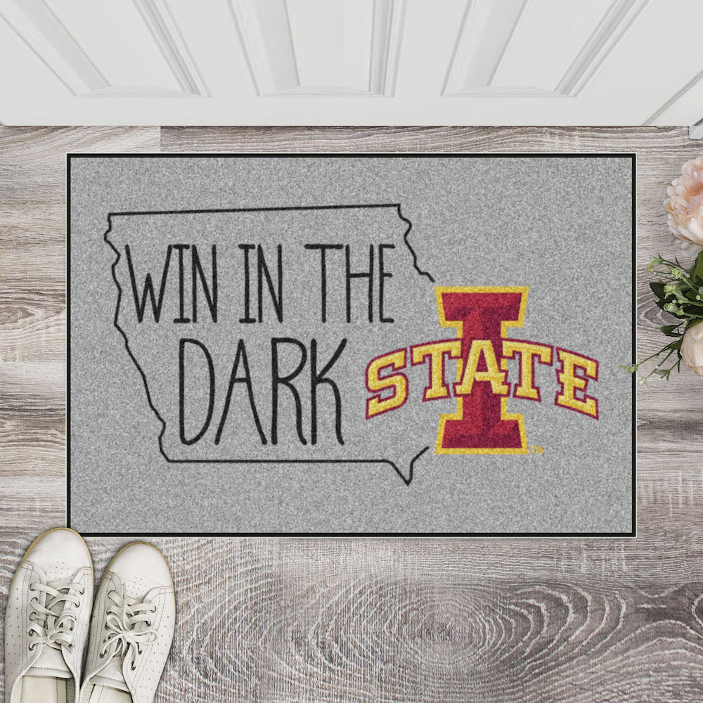 Iowa State Cyclones SOUTHERN STYLE 20 x 30 STARTER Floor Mat