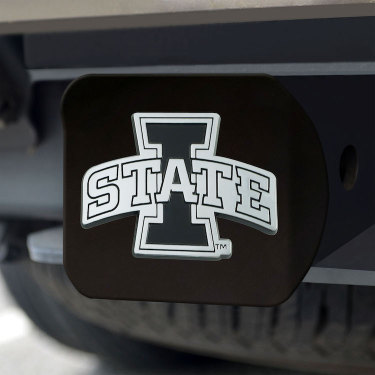 Iowa State Cyclones BLACK Trailer Hitch Cover