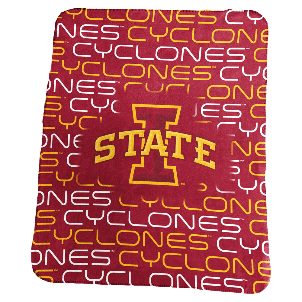 Iowa State Cyclones Classic Fleece Blanket