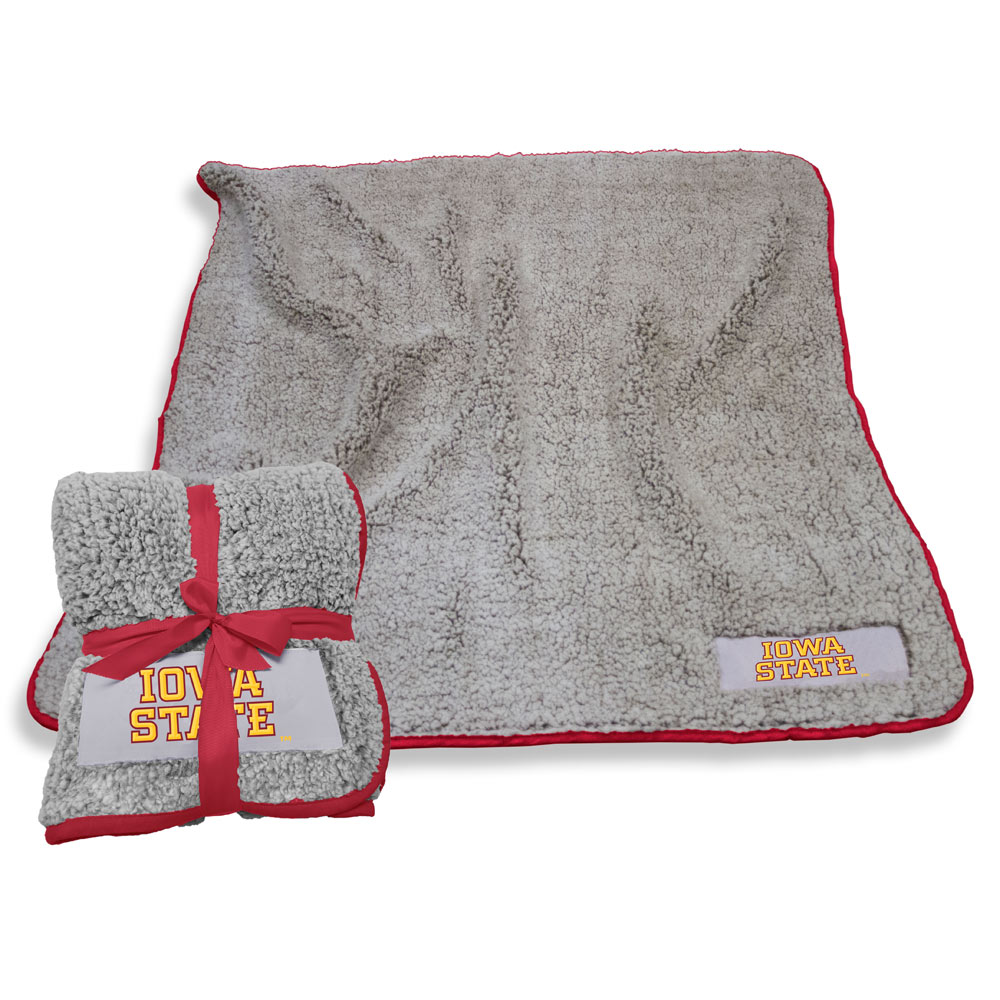 Iowa State Cyclones Frosty Throw Blanket