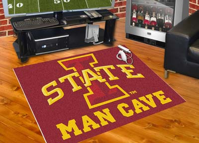 Iowa State Cyclones ALL STAR 34 x 45 MAN CAVE Floor Mat