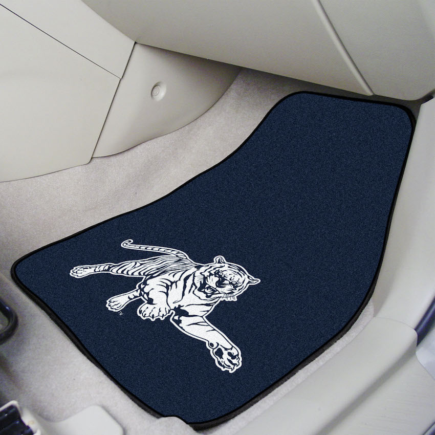 Jackson State Tigers Car Floor Mats 18 x 27 Carpeted-Pair