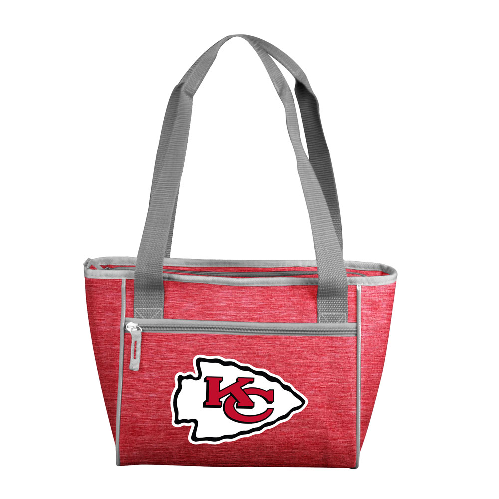 Kansas City Chiefs Crosshatch 16 Can Cooler Tote