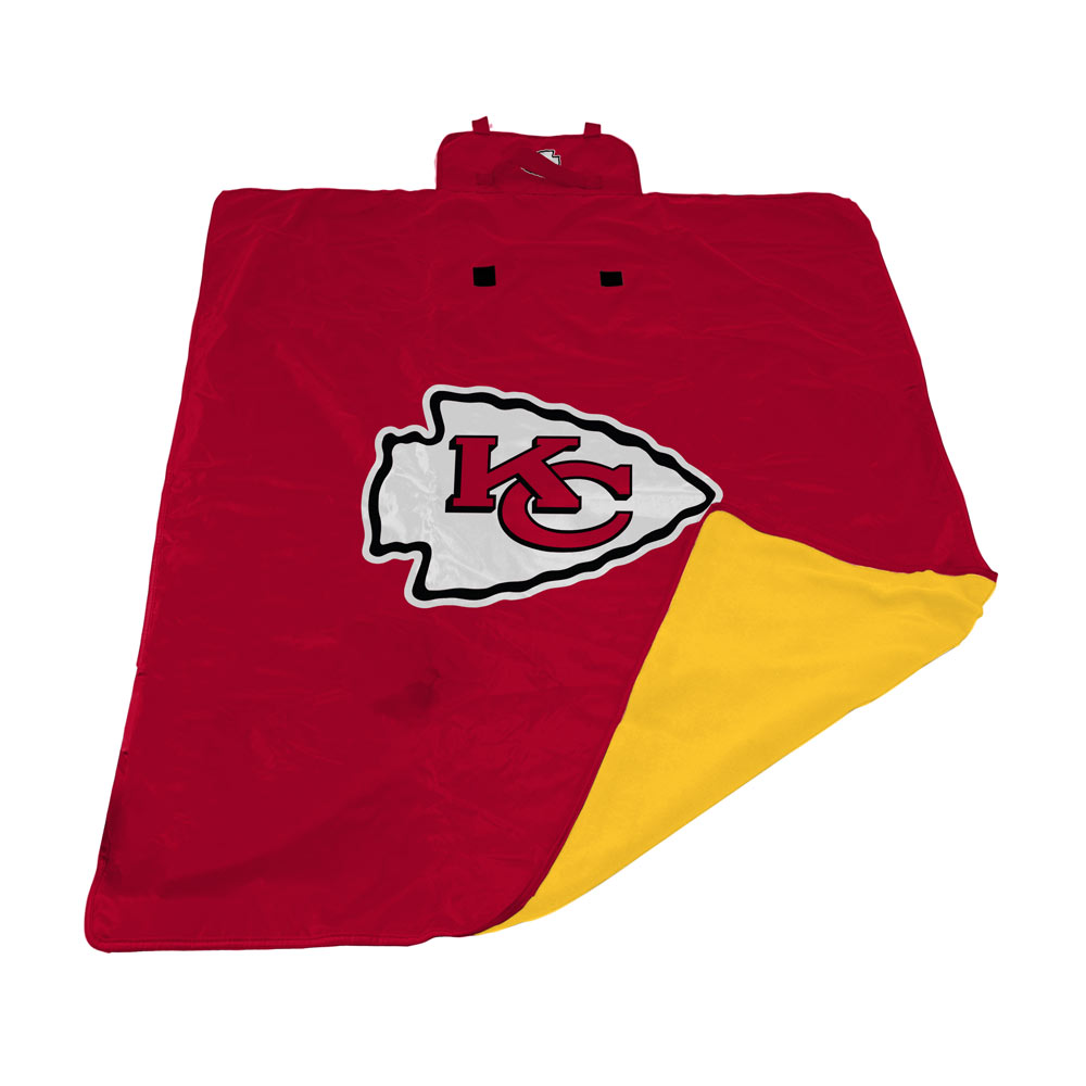Kansas City Chiefs All Weather Outdoor Blanket