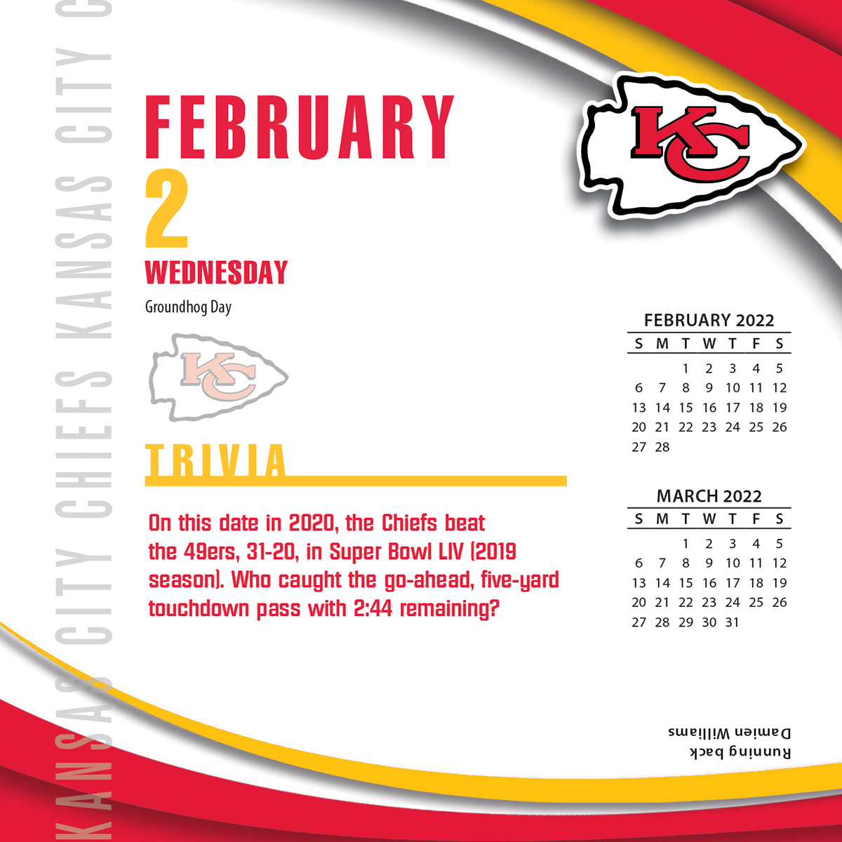 It's just an image of Inventive Kc Chiefs Schedule 2020 Printable