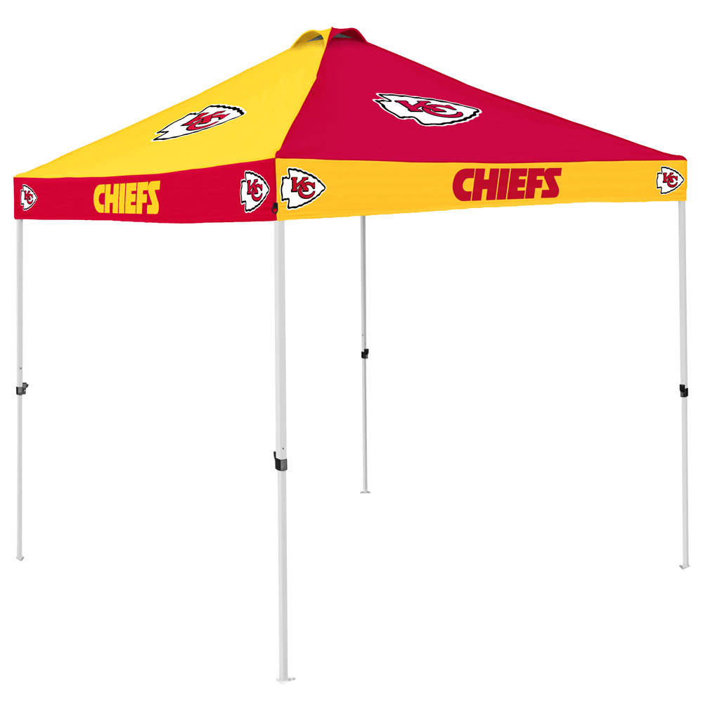 Kansas City Chiefs Checkerboard Tailgate Canopy