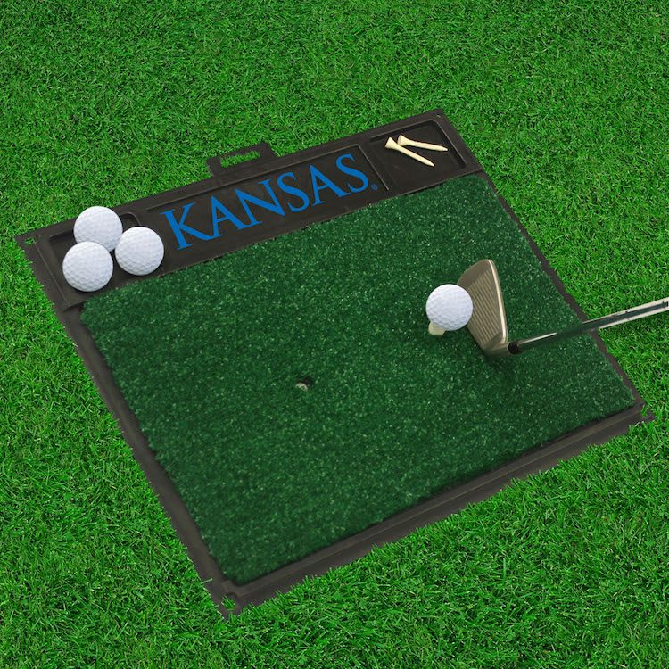 Kansas Jayhawks Golf Hitting Mat