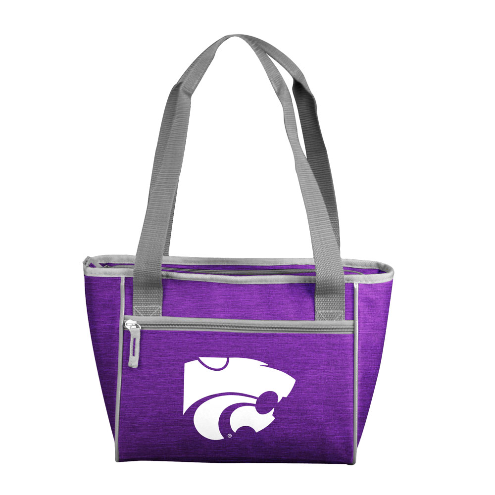 Kansas State Wildcats Crosshatch 16 Can Cooler Tote