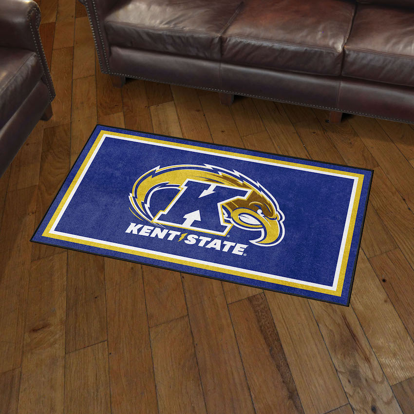 Kent State Golden Flashes 3x5 Area Rug