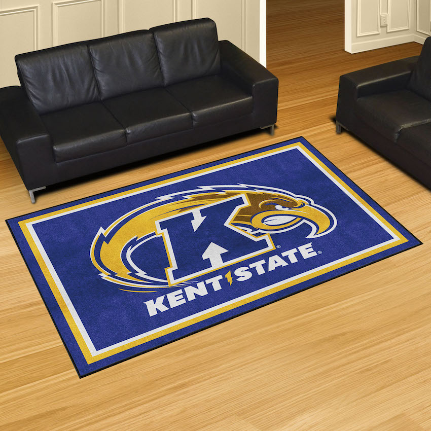 Kent State Golden Flashes 5x8 Area Rug