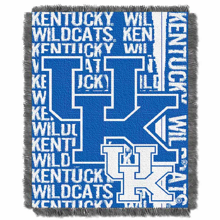 Kentucky Wildcats Double Play Tapestry Blanket 48 x 60