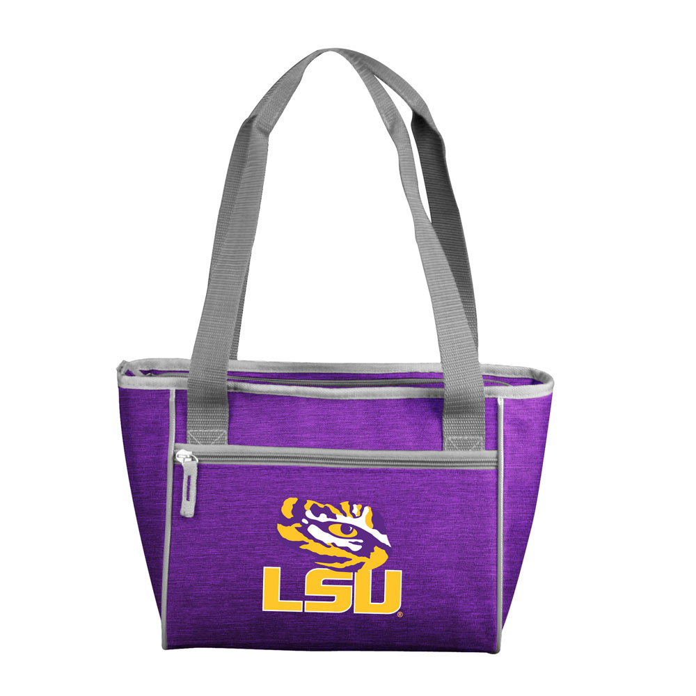 LSU Tigers Crosshatch 16 Can Cooler Tote