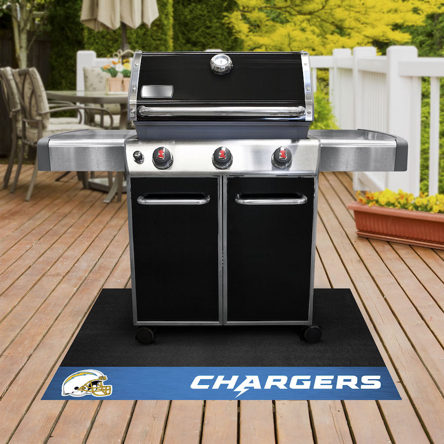 Los Angeles Chargers NFL Grill Mat