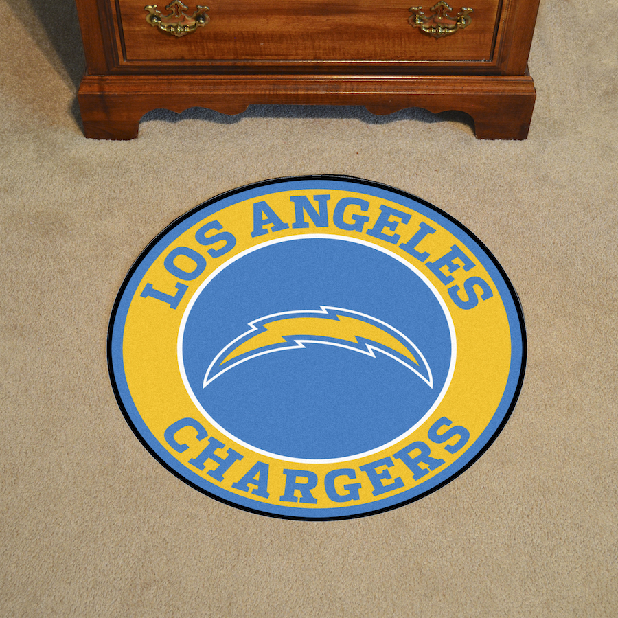 Los Angeles Chargers Roundel Mat