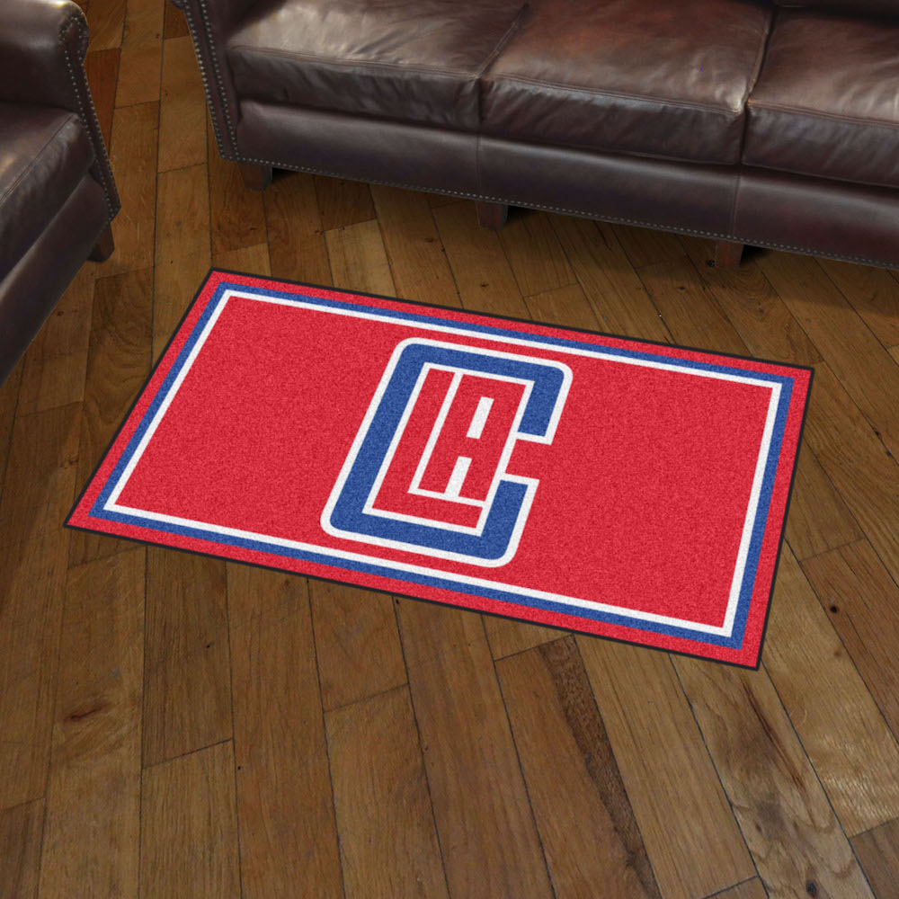 Los Angeles Clippers 3x5 Area Rug