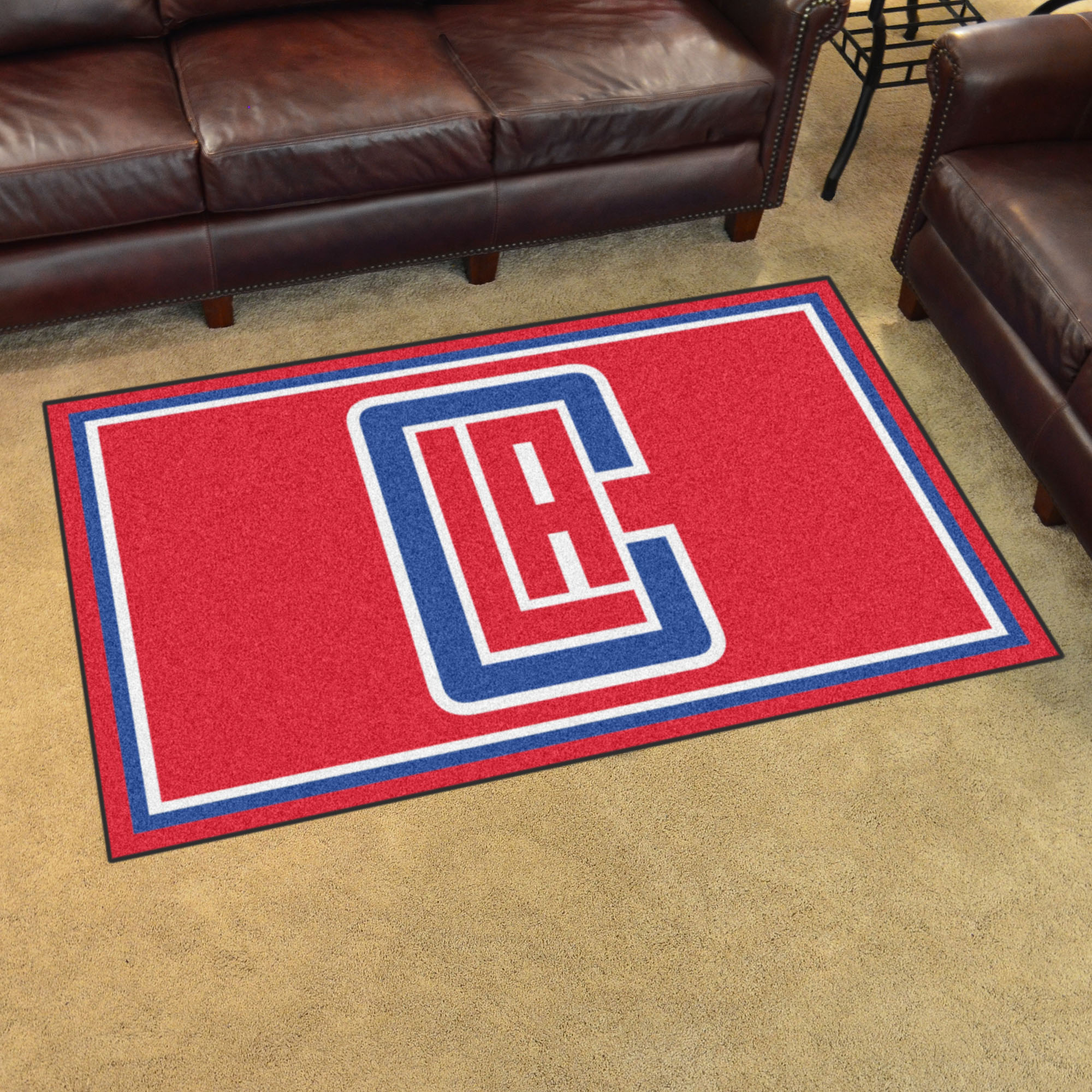 Los Angeles Clippers 4x6 Area Rug