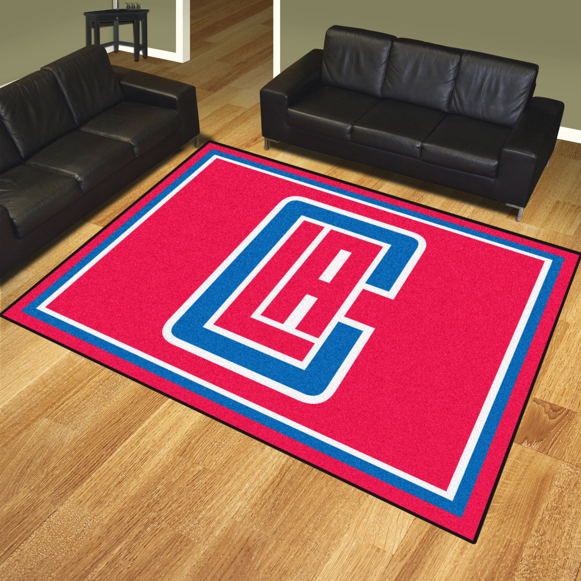 Los Angeles Clippers Ultra Plush 8x10 Area Rug