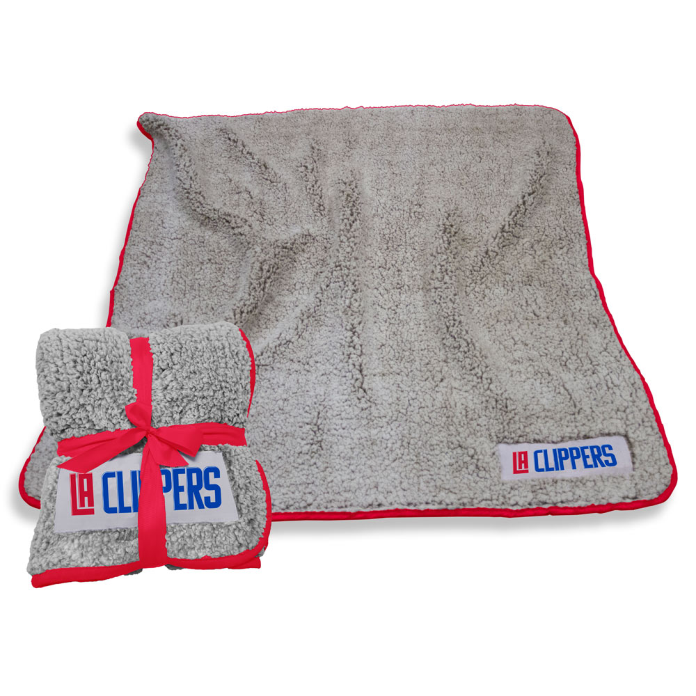 Los Angeles Clippers Frosty Throw Blanket