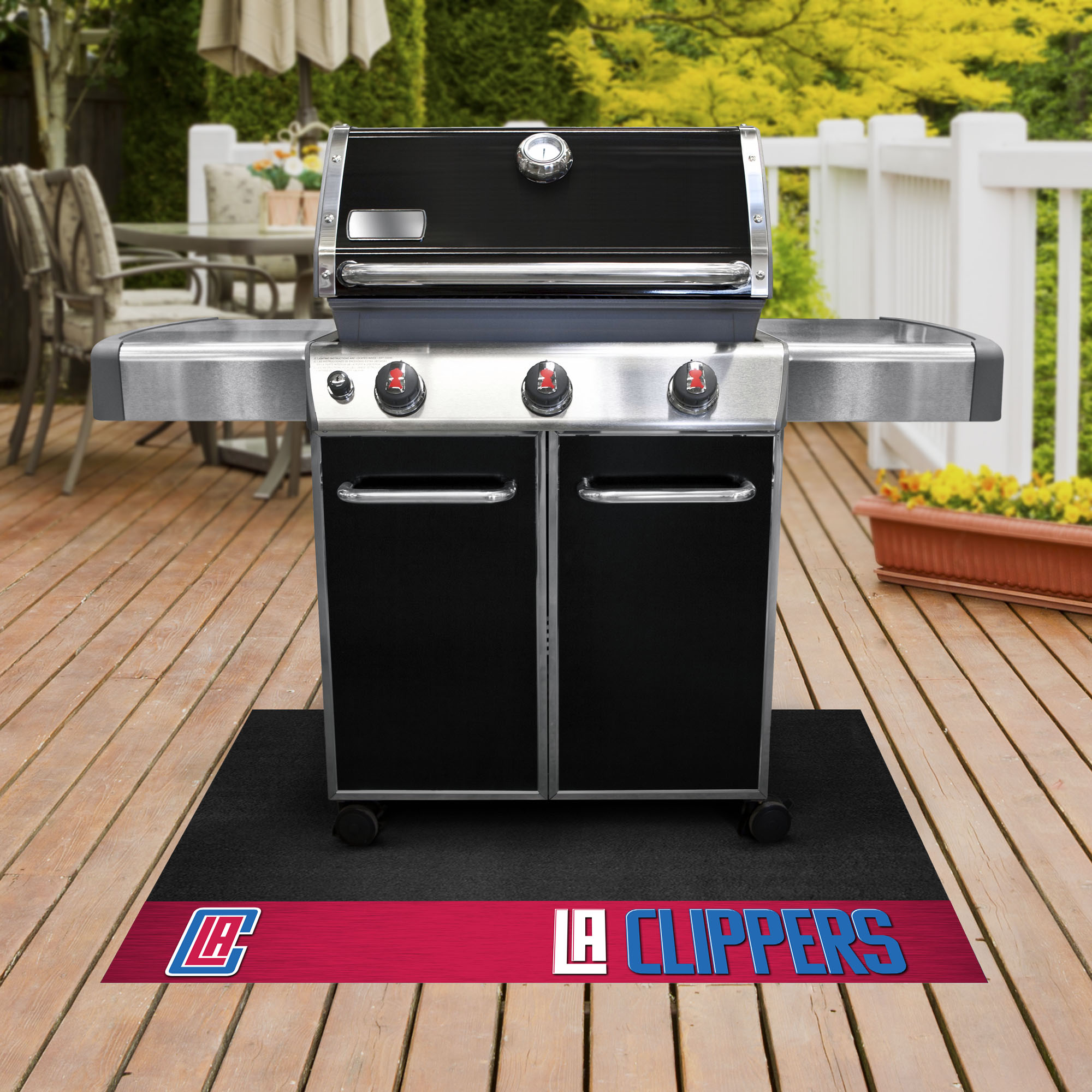 Los Angeles Clippers NBA Grill Mat
