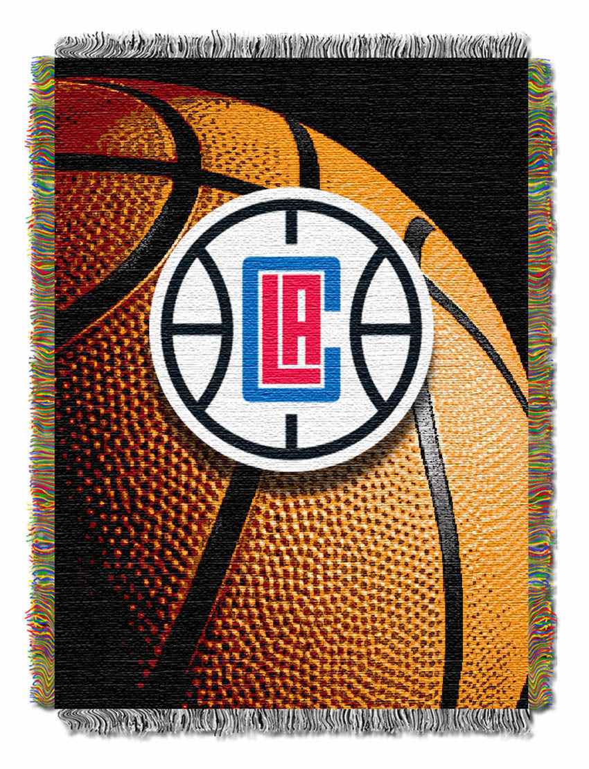 Los Angeles Clippers Real Photo Basketball Tapestry Buy