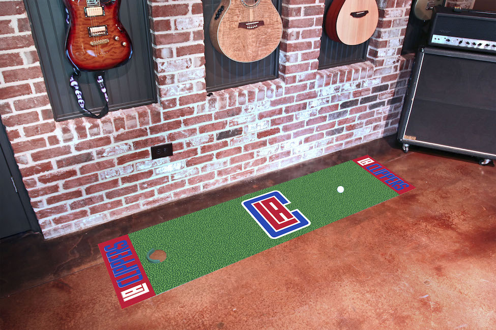 Los Angeles Clippers Putting Green Mat 18 x 72