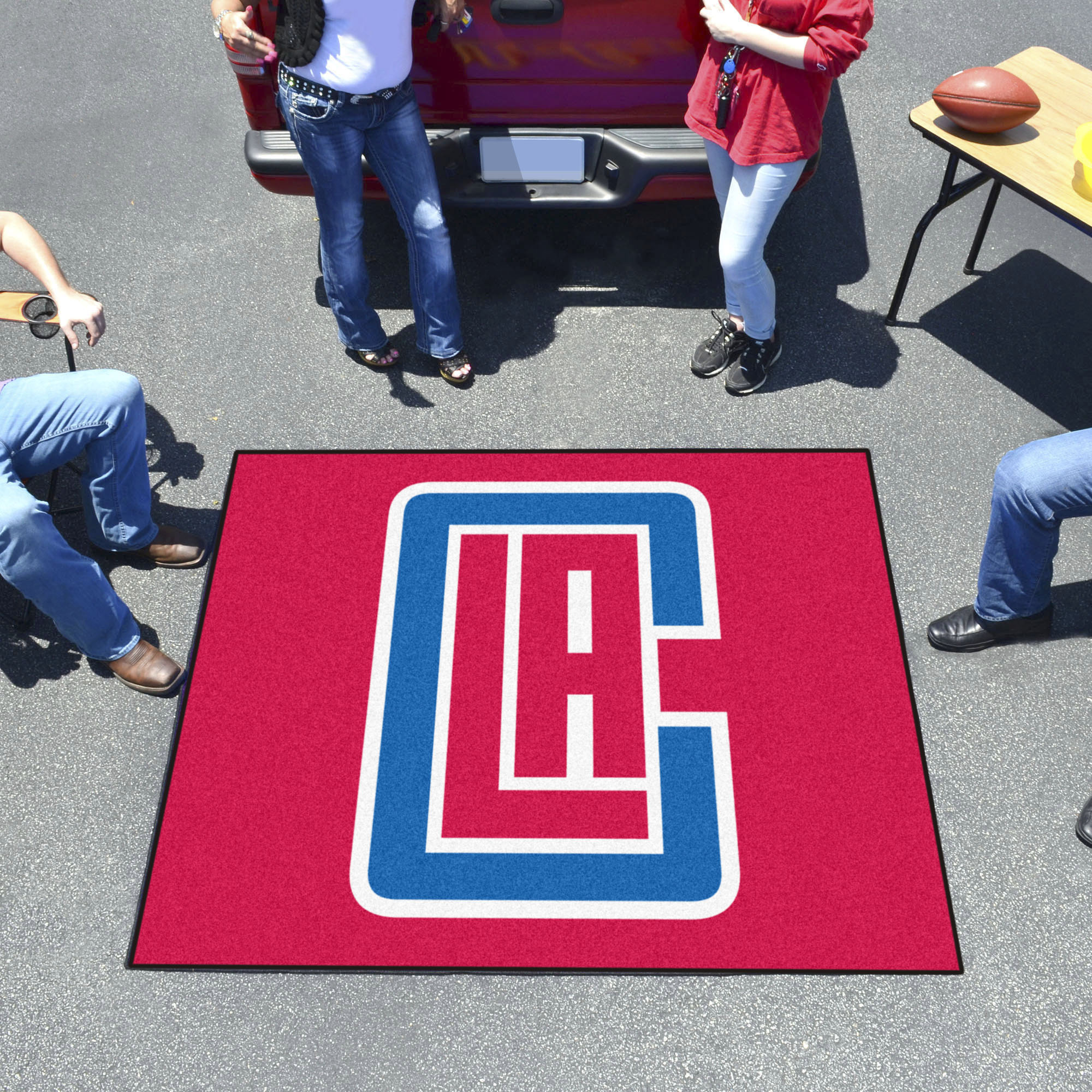 Los Angeles Clippers TAILGATER 60 x 72 Rug