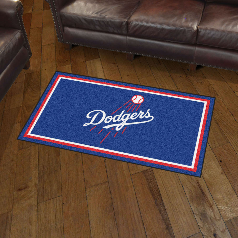 Los Angeles Dodgers 3x5 Area Rug