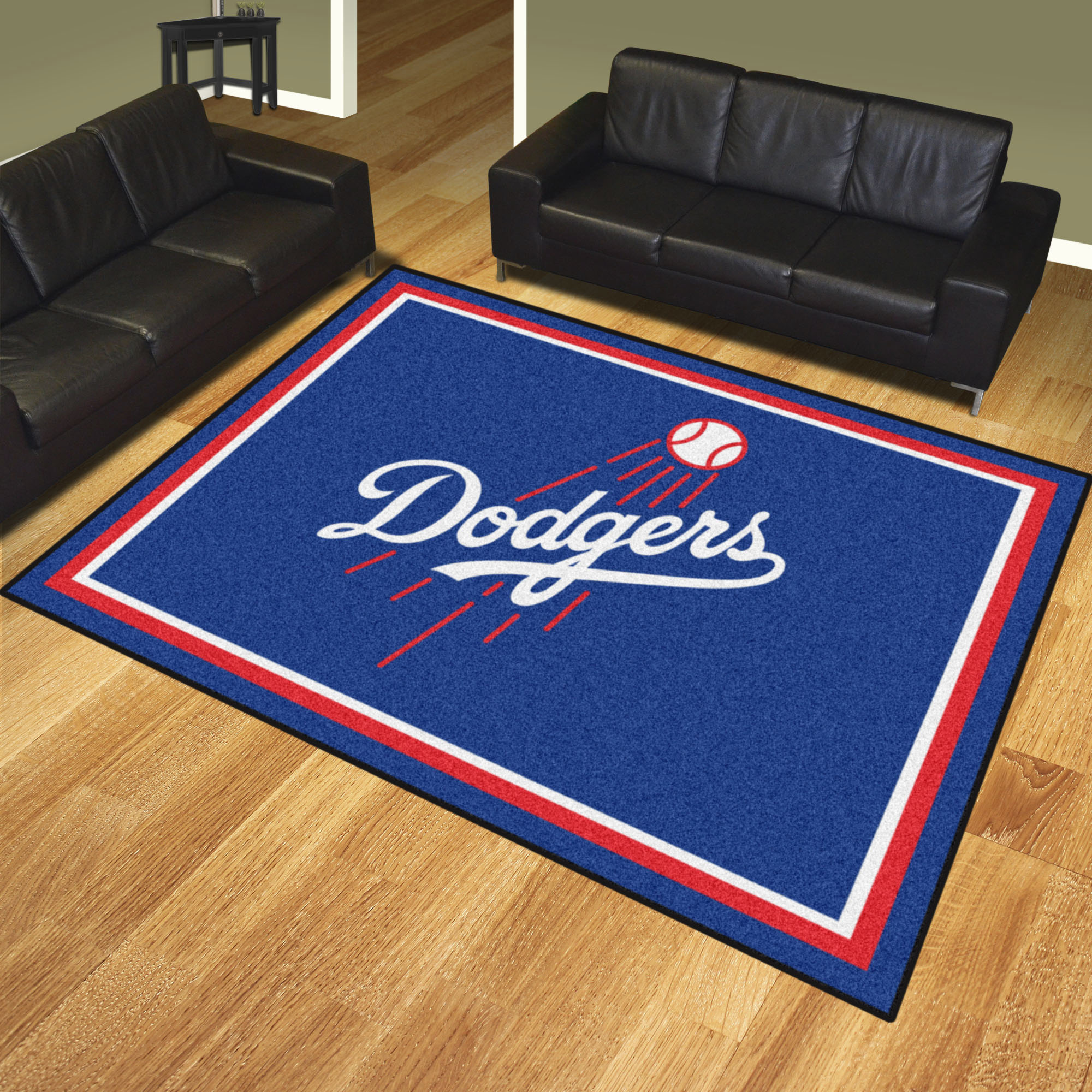Los Angeles Dodgers Ultra Plush 8x10 Area Rug