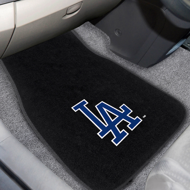 Los Angeles Dodgers Car Floor Mats 17 x 26 Embroidered Pair