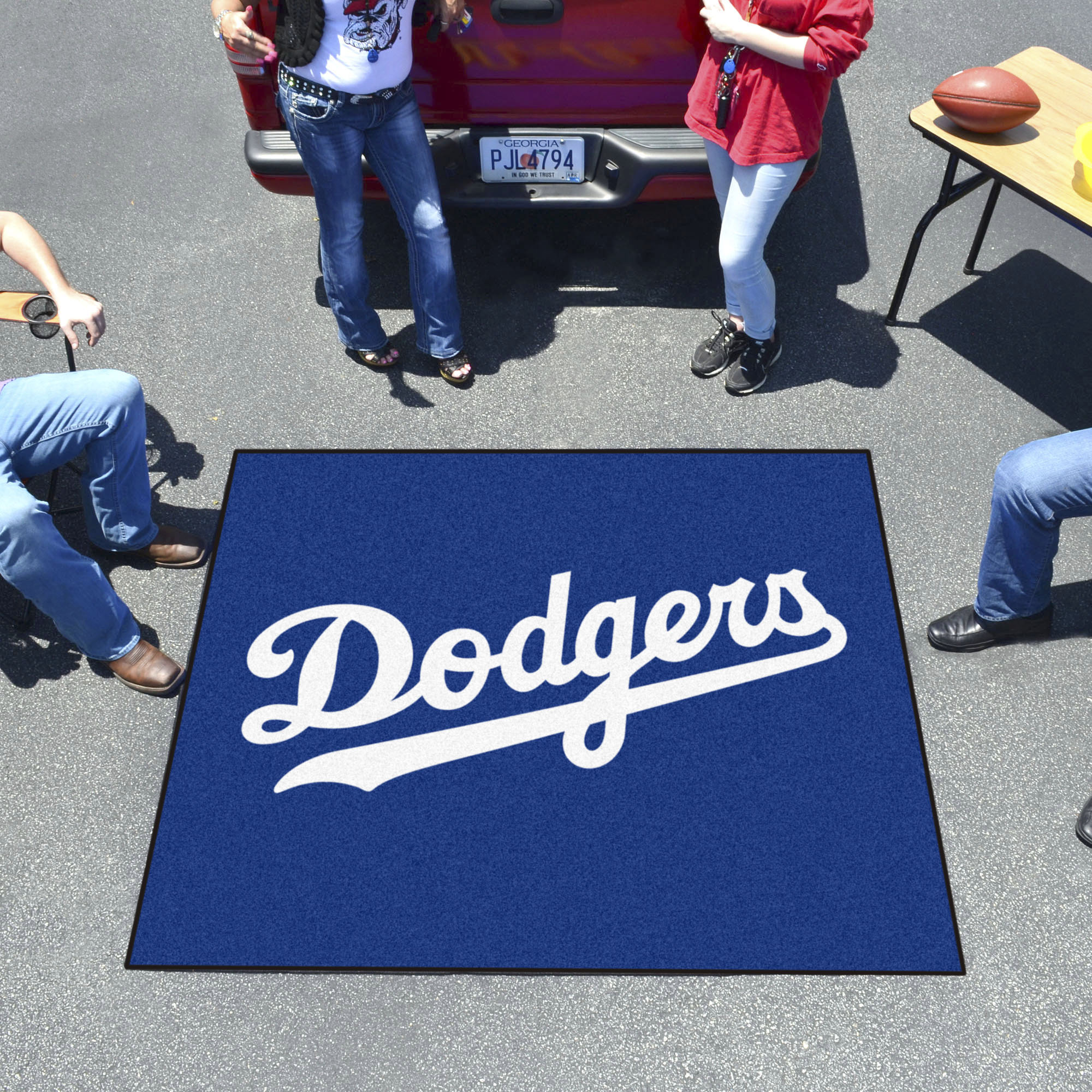 Los Angeles Dodgers Tailgater 60 X 72 Rug Buy At Khc Sports