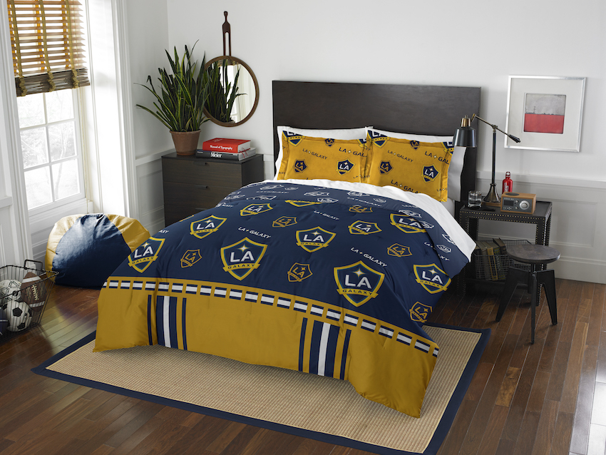 Los Angeles Galaxy QUEEN/FULL size Comforter and 2 Shams