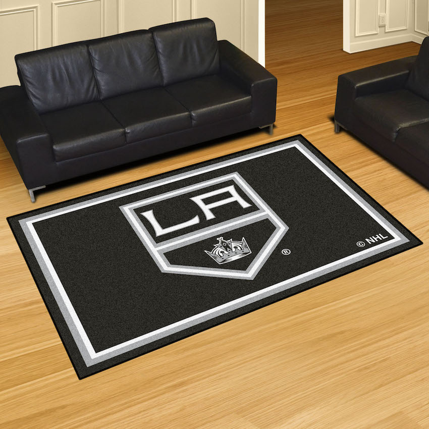 Los Angeles Kings 5x8 Area Rug