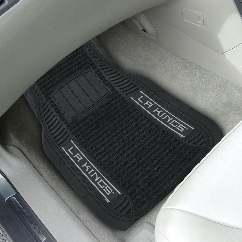 Los Angeles Kings Deluxe 20 x 27 Car Floor Mats