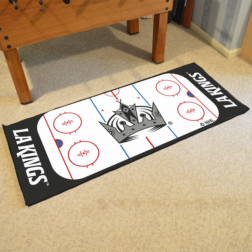 Los Angeles Kings 30 x 72 Hockey Rink Carpet Runner