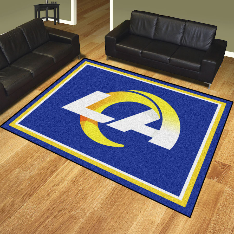 Los Angeles Rams Ultra Plush 8x10 Area Rug