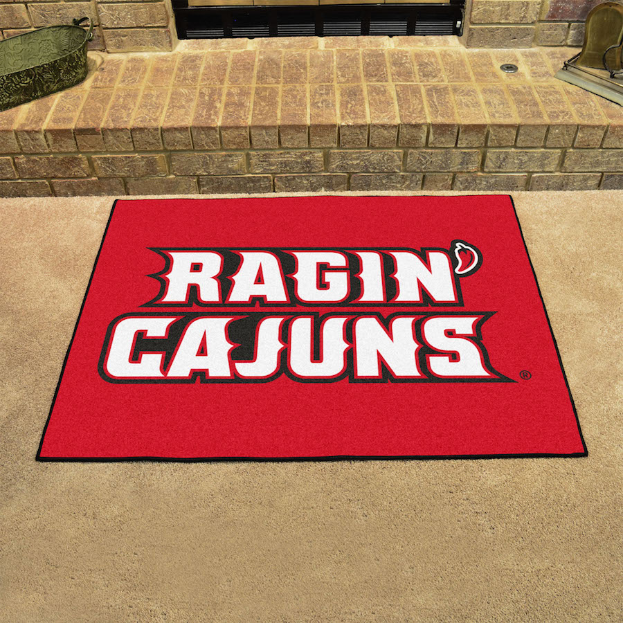Louisiana Lafayette Ragin Cajuns ALL STAR 34 x 45 Floor Mat