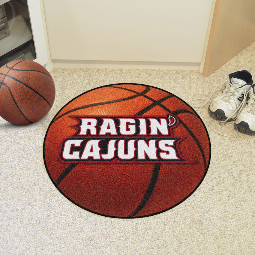 Louisiana Lafayette Ragin Cajuns BASKETBALL Mat