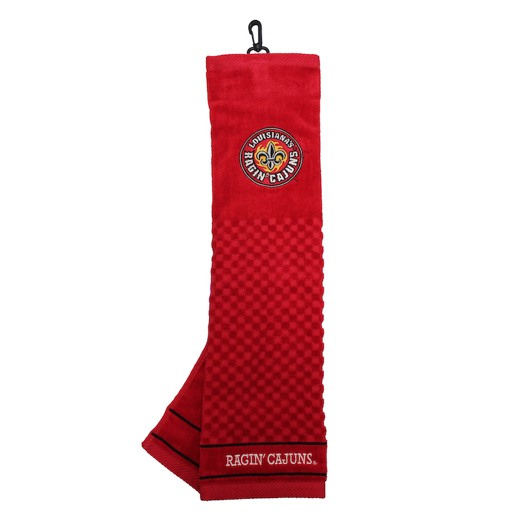 Louisiana Lafayette Ragin Cajuns Embroidered Golf Towel
