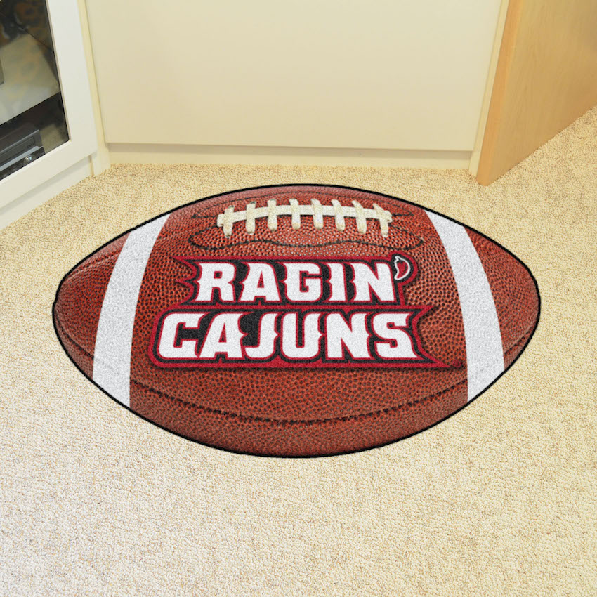 Louisiana Lafayette Ragin Cajuns 22 x 35 FOOTBALL Mat