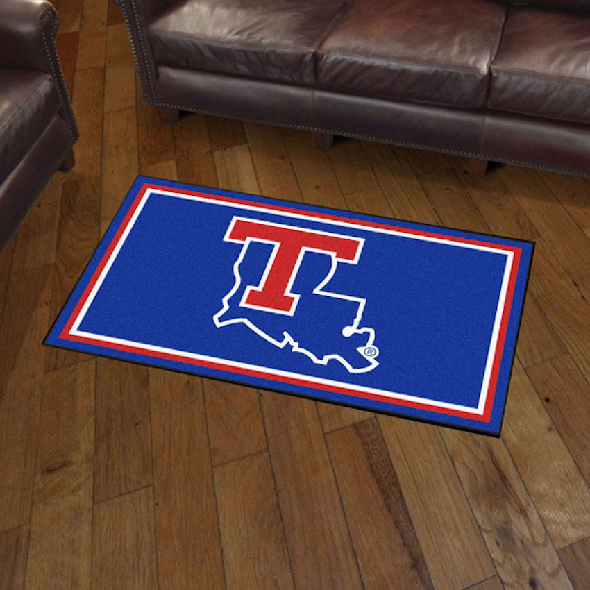 Louisiana Tech Bulldogs 3x5 Area Rug