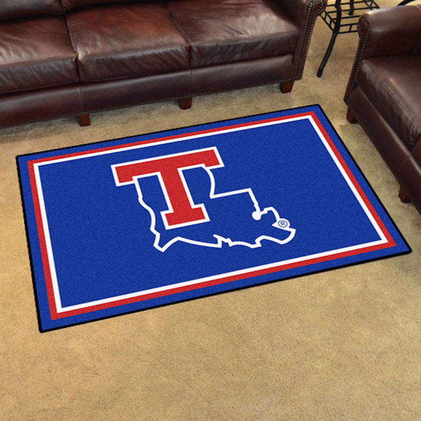 Louisiana Tech Bulldogs 4x6 Area Rug