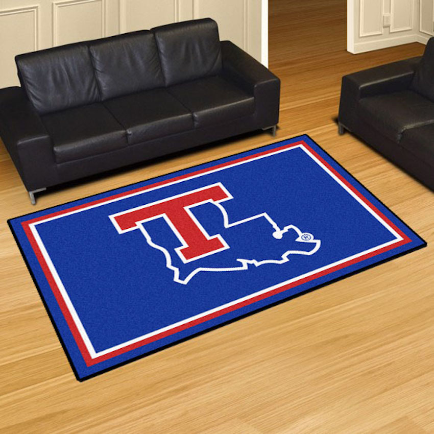 Louisiana Tech Bulldogs 5x8 Area Rug