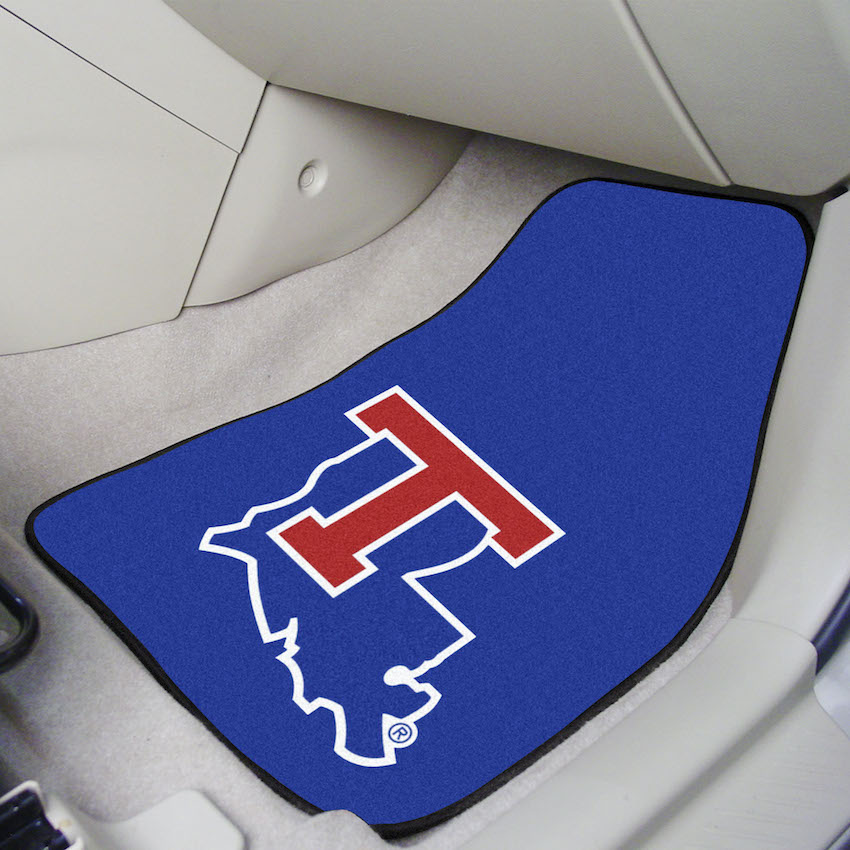 Louisiana Tech Bulldogs Car Floor Mats 18 x 27 Carpeted-Pair