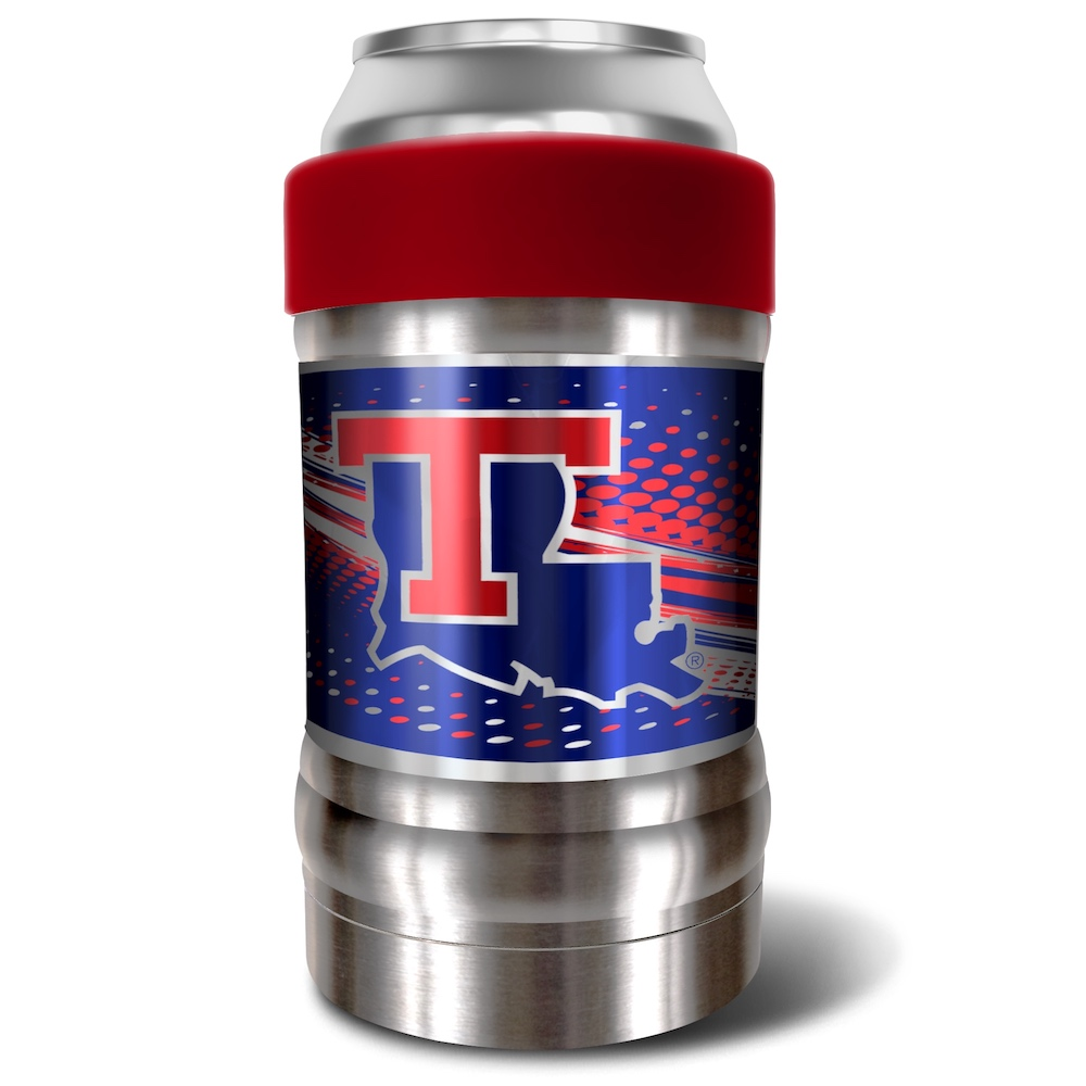 Louisiana Tech Bulldogs LOCKER NCAA Insulated Can and Bottle Holder - Team Color